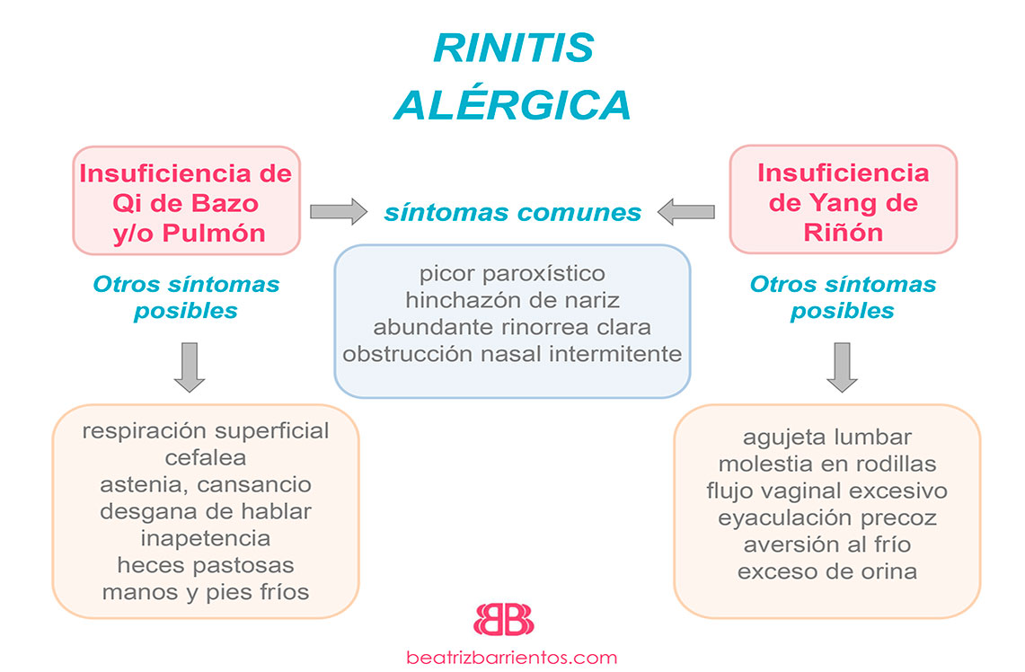 Rinitis alérgica y Medicina Tradicional China